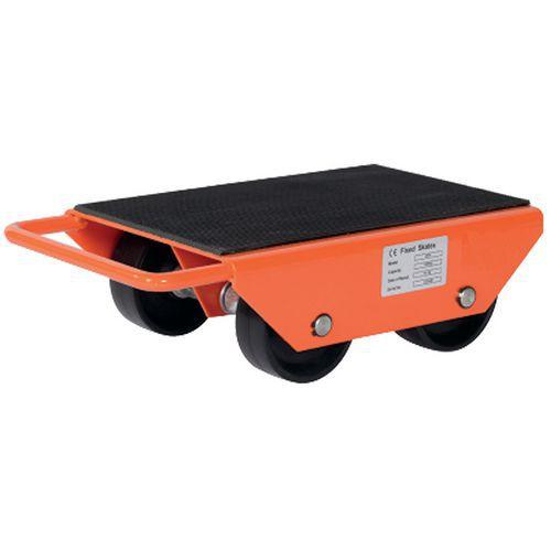 Base rolante com roletes fixos – Capacidade de 1000 a 6000kg