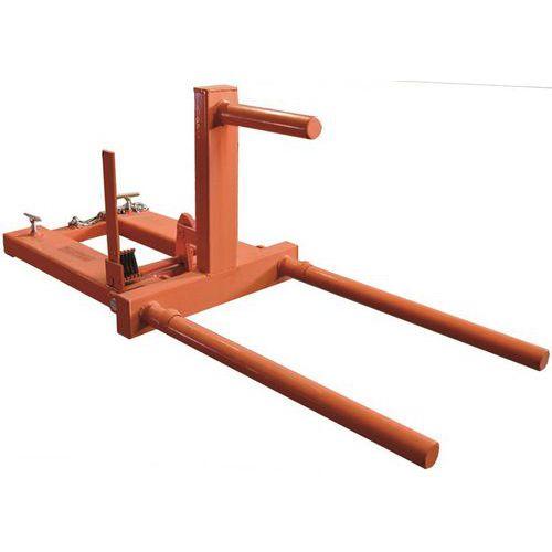 Manipulador horizontal e vertical para bidões – capacidade de 400kg