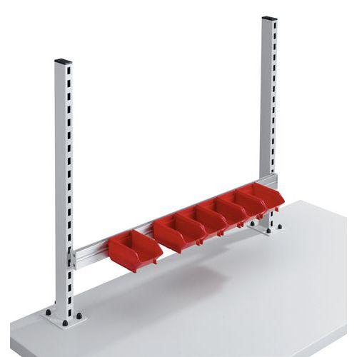 Calha porta-recipientes inclinável para bancadas Allround