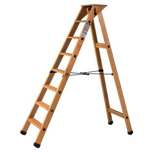 Escadote profissional em madeira Lyonnais de um plano – Centaure