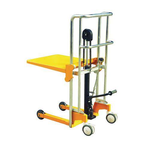 Empilhador manual - Capacidade: 400 kg