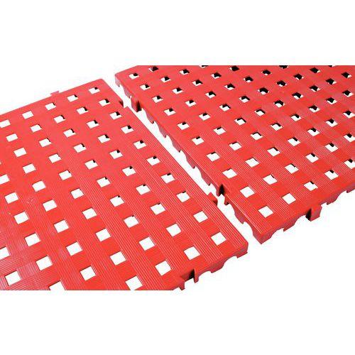Piso gradeado elevada resistência multiusos - Em placas