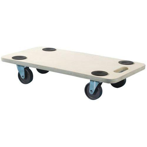 Plataforma móvel em madeira – capacidade de 200kg – Mottez