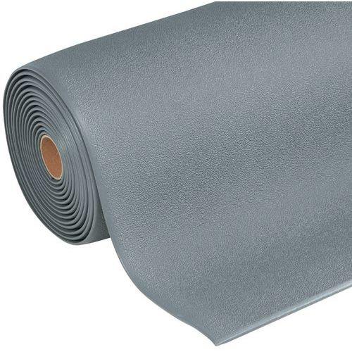 Tapete antifadiga ergonómico – Superfície granulosa – Em rolo – Manutan