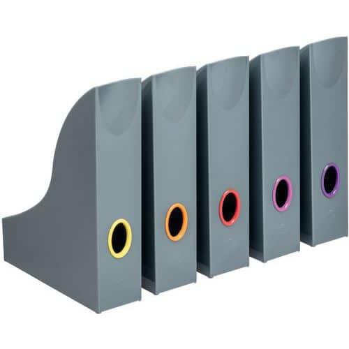 Porta-revistas Varicolor® – conjunto de 5 cores