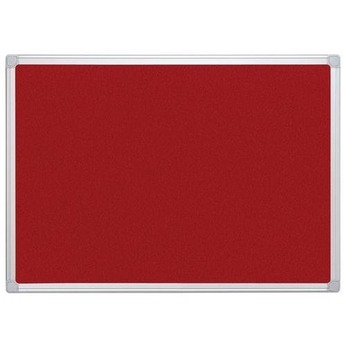 Painel de exposição têxtil - Vermelho
