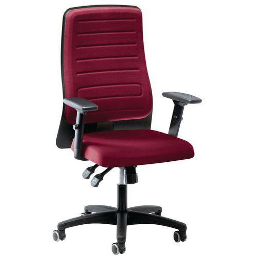Cadeira de escritório síncrona e giratória Eccon - 7152