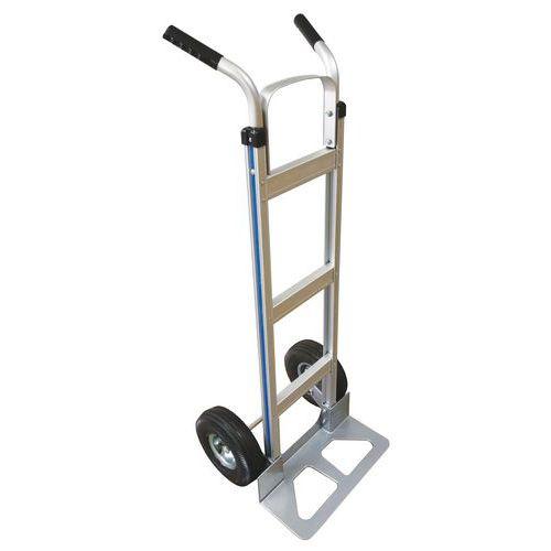 Transportador em alumínio – pala fixa – capacidade de 150kg