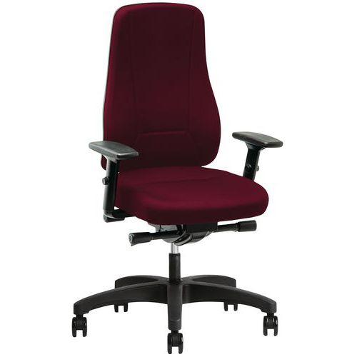 Cadeira de escritório giratória com espaldar alto Younico - 2456