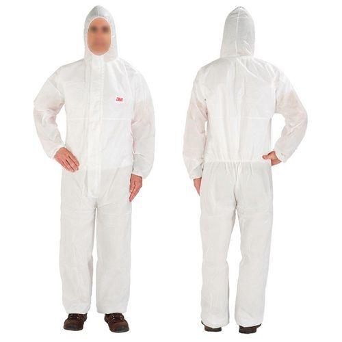 Fato de proteção descartável branco 4515 3M