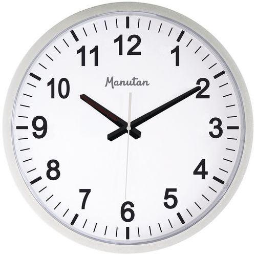 Relógio de parede de quartzo Manutan