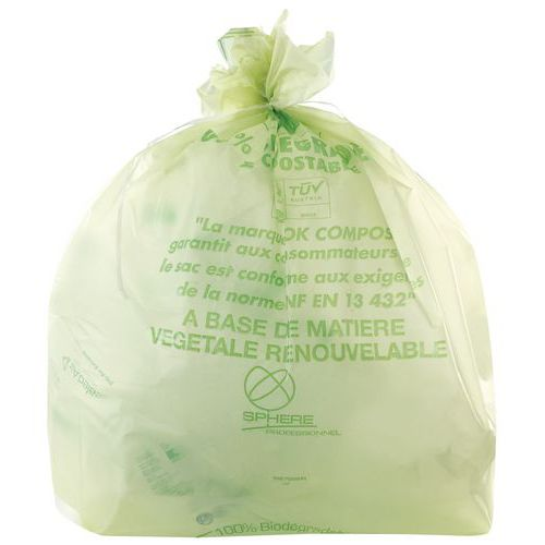 Saco biodegradável – 80 a 240L