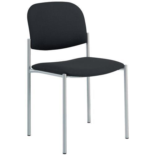 Cadeira para visitas Luca - Estrutura em alumínio
