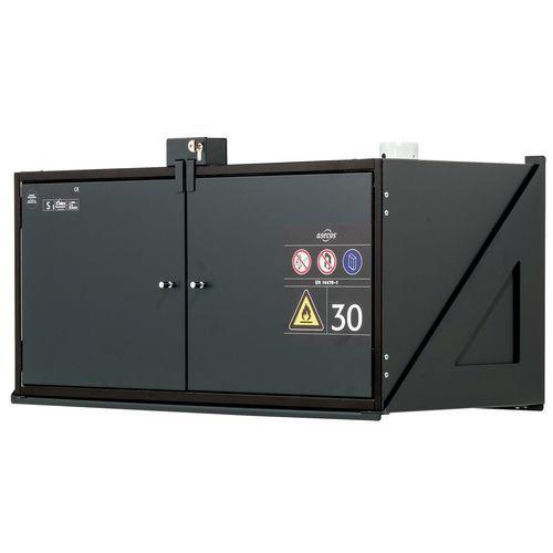 Armário de segurança de parede para produtos inflamáveis