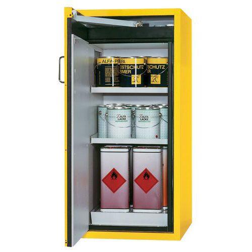 Armário de segurança para produtos inflamáveis tipo balcão