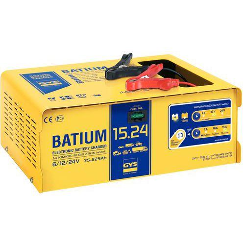 Carregador de bateria automático com microprocessador 6/12/24 V - Gys
