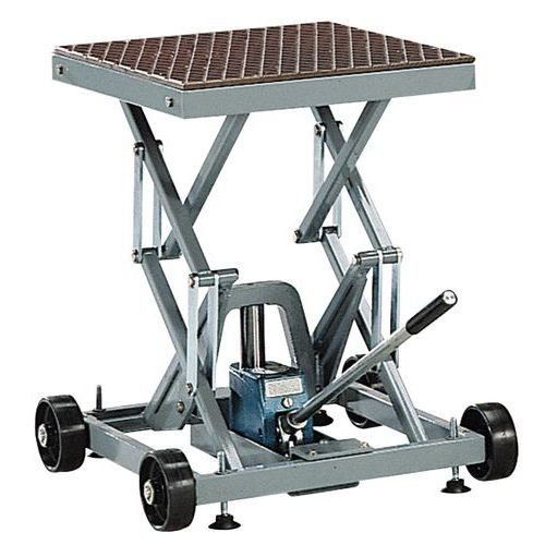 Mesa elevatória móvel hidráulica - Capacidade de carga de 200 kg
