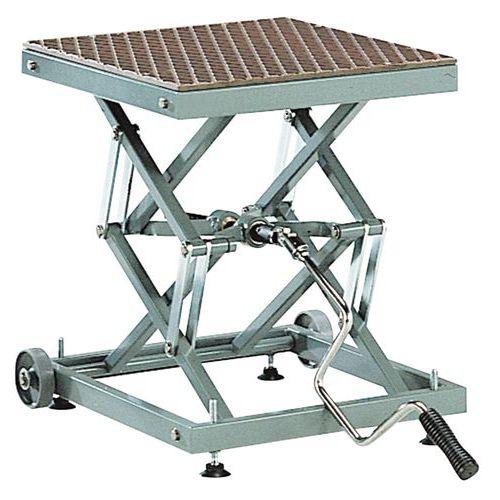 Mesa elevatória móvel mecânica – capacidade de 100kg