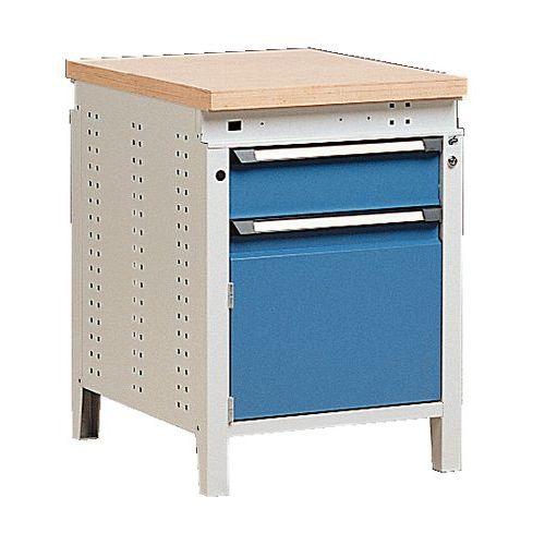 Bancada Function 60 com gaveta e armário