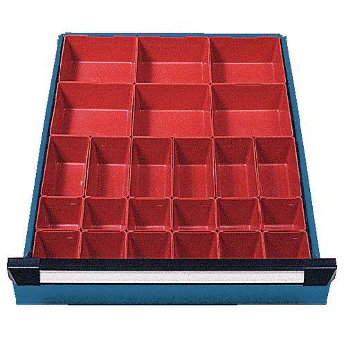Solução de arrumação para gaveta Module - 24 caixas
