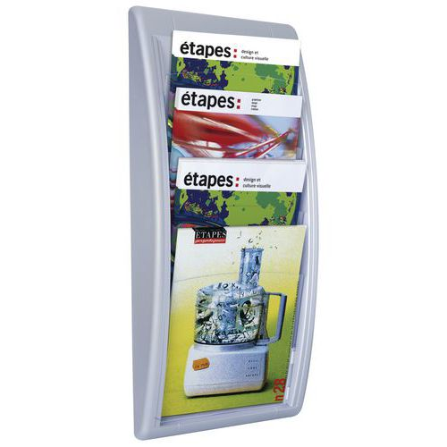 Expositor de parede Quick-Fit - A4 - Paperflow