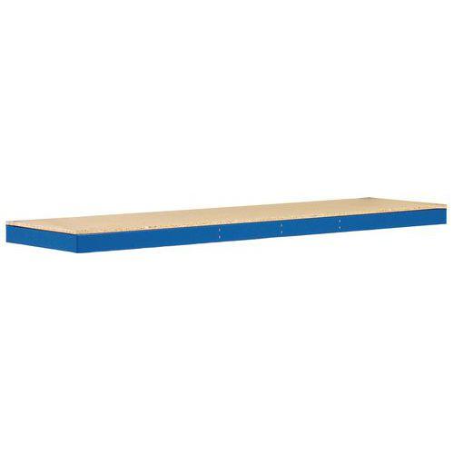 Prateleira adicional em madeira Manutan Rapid 1