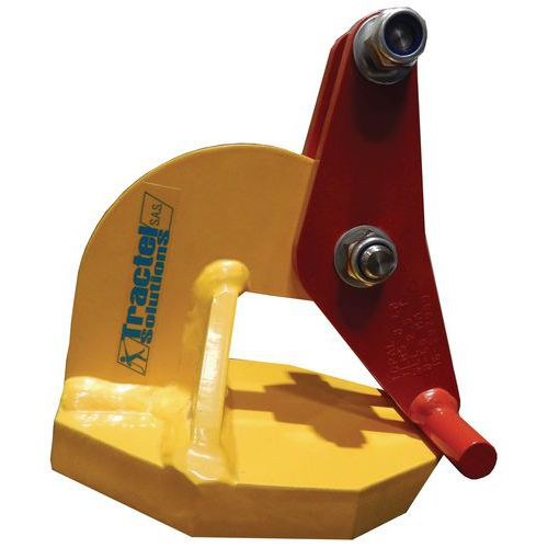 Pinças para elevação de placas horizontais – preensão de 0mm a 150mm