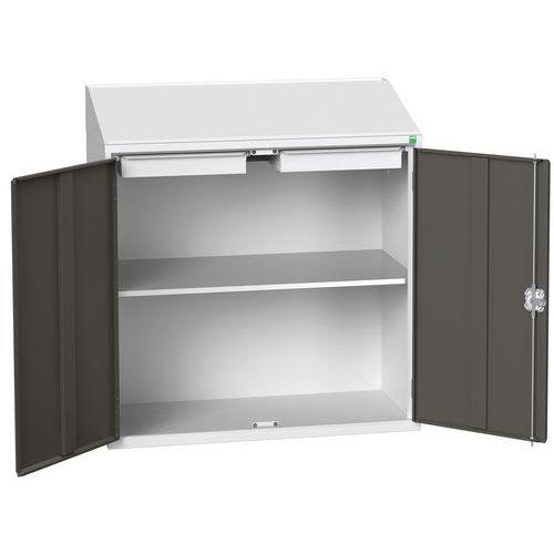 Armário de estante Verso portas de batente 1050x550x1130mm -Bott
