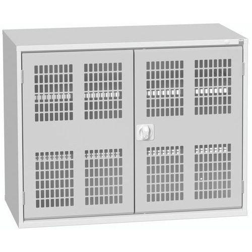 Armários com portas de abrir ventiladas 1300x550x900mm - Bott