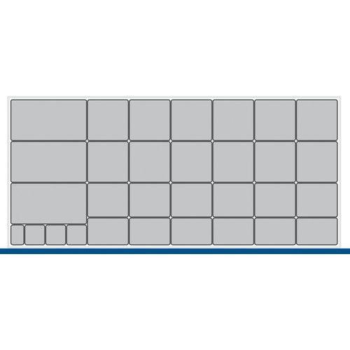 Cubio Storage Box Set EKK-13675-5 - Inferior