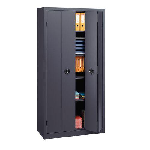 Armário com portas dobráveis em kit - Alto - Largura 120 cm