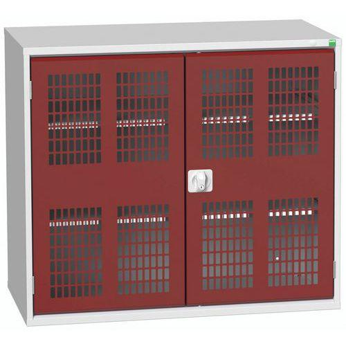 Armários com portas de abrir ventiladas 1300x550x1000mm - Bott