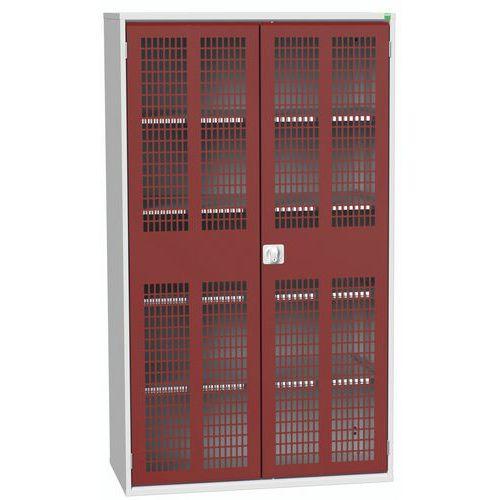 Armários com portas ventiladas articuladas 1300x550x2000mm - Bott