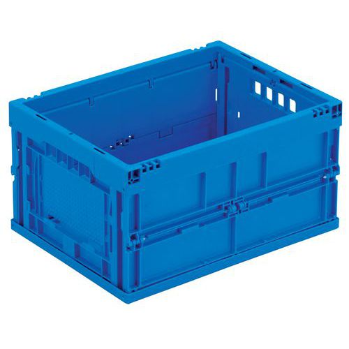 Caixa dobrável azul - 22 a 40 L