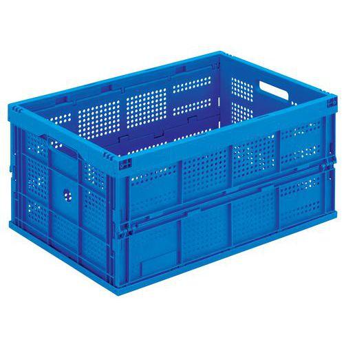 Caixa dobrável azul - 60 a 68 L