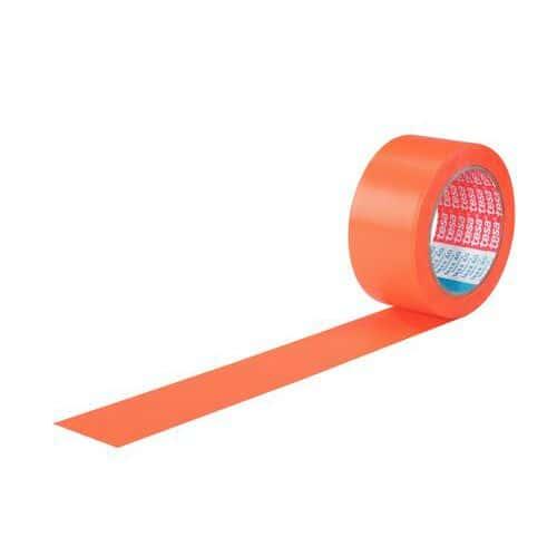 Fita adesiva em PVC para reboco – 4843 – tesa – laranja