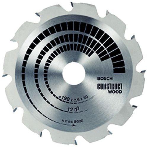 Lâmina de serra circular Construct Wood - Ø 235 mm - Cubo Ø 30 mm