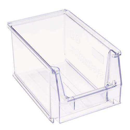 Caixa de bico empilhável - Comprimento 230 mm - 3,8 L