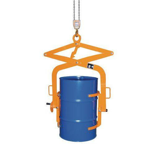Garra para bidões – capacidade de 100 a 300kg