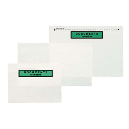 Envelope porta-documentos – Papel de fibras naturais – Documento incluído