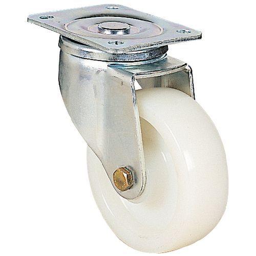 Rodízio giratório com placa - Capacidade de 300 a 900 kg