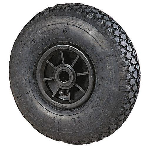 Roda com relevos para transportadores – Capacidade: 150 a 250kg