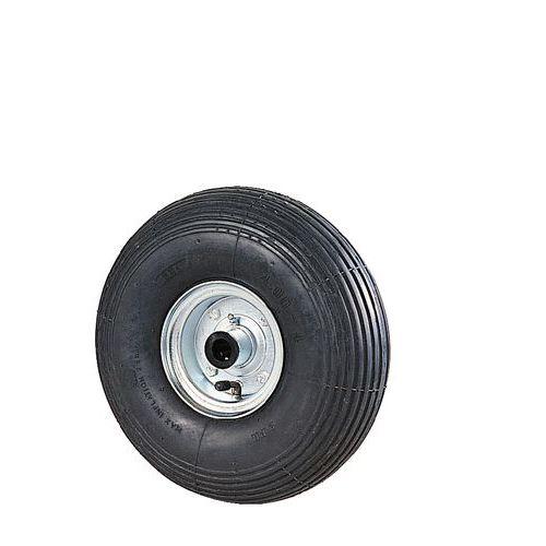 Roda ranhurada para transportadores – Capacidade: 180 a 200kg – Com rolamento de esferas