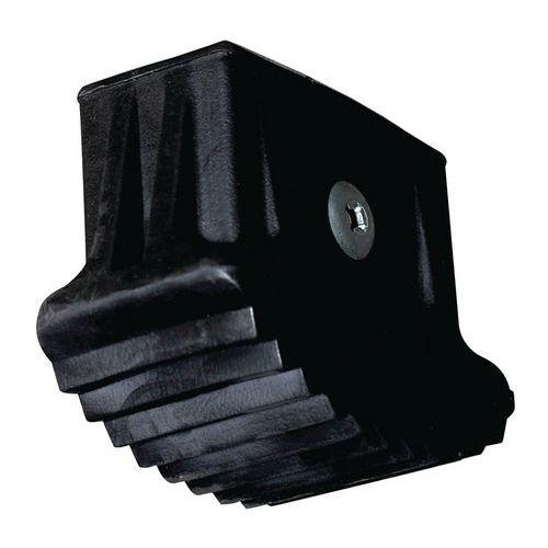 Calços pretos para plataforma Stepper de 1 degrau