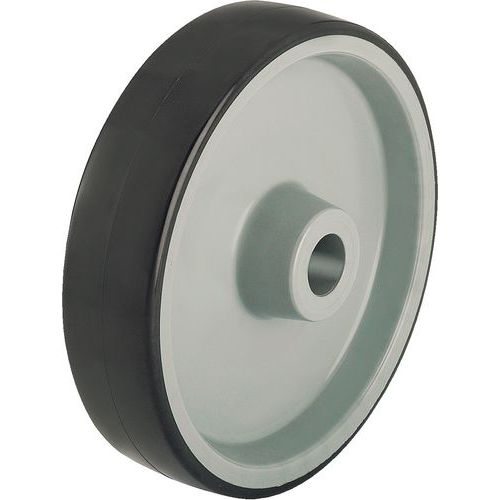 Roda - Capacidade de 125 a 500 kg - Cinzenta