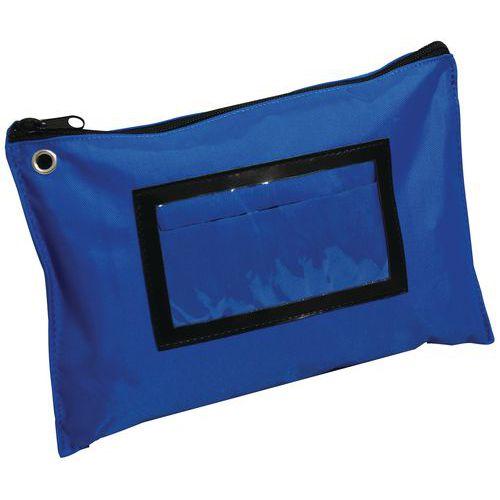 Bolsa plana multiusos A5 azul