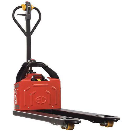 Porta-paletes elétrico ergonómico Pro – capacidade de 1200kg
