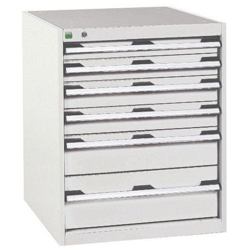 Armário de oficina Cubio SL-658-6.1 com gavetas - Bott