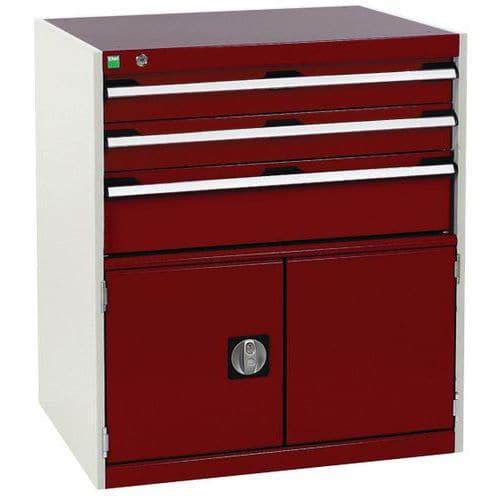 Armário de oficina Cubio SL-859-4.1 com gavetas - Bott
