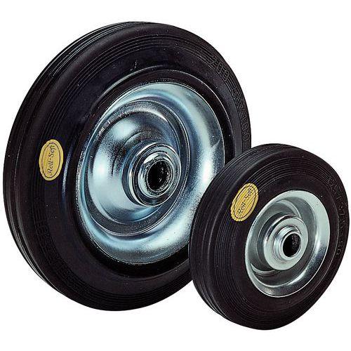 Roda - Capacidade de carga de 100 a 650 kg - Com rolamento de agulhas